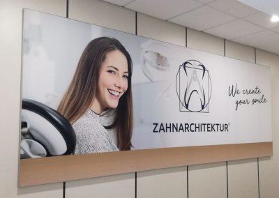Banner Zahnarchitektur
