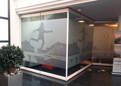 Fenster Volksbank Damme